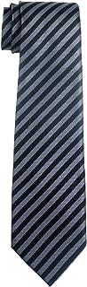 Retreez Striped Woven Microfiber Boy's Tie - 8-10 years - Various Colors
