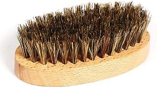 BLUE ZOO Men's Beard Brush, Facial Hair 100% Beech Wooden Handle Perfect Bristle Beard&Mustache Brush (8.5**4.5 * 2.8cm)