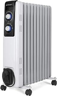 Orbegozo RF 2500, Radiador de Aceite, Construcción Modular de 11 Elementos, 2500 W, Blanco