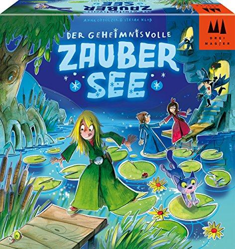 Schmidt Spiele Drei Magier Spiele 40882 Der Geheimnisvolle Zaubersee, Kinderspiel