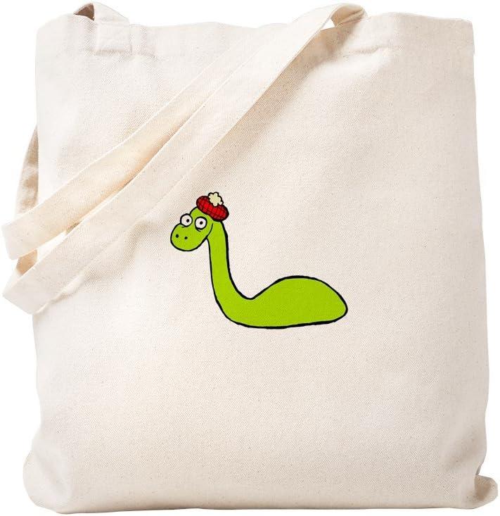 CafePress Loch Ness Monster Tote Bag Natural Canvas Tote Bag, Reusable Shopping Bag