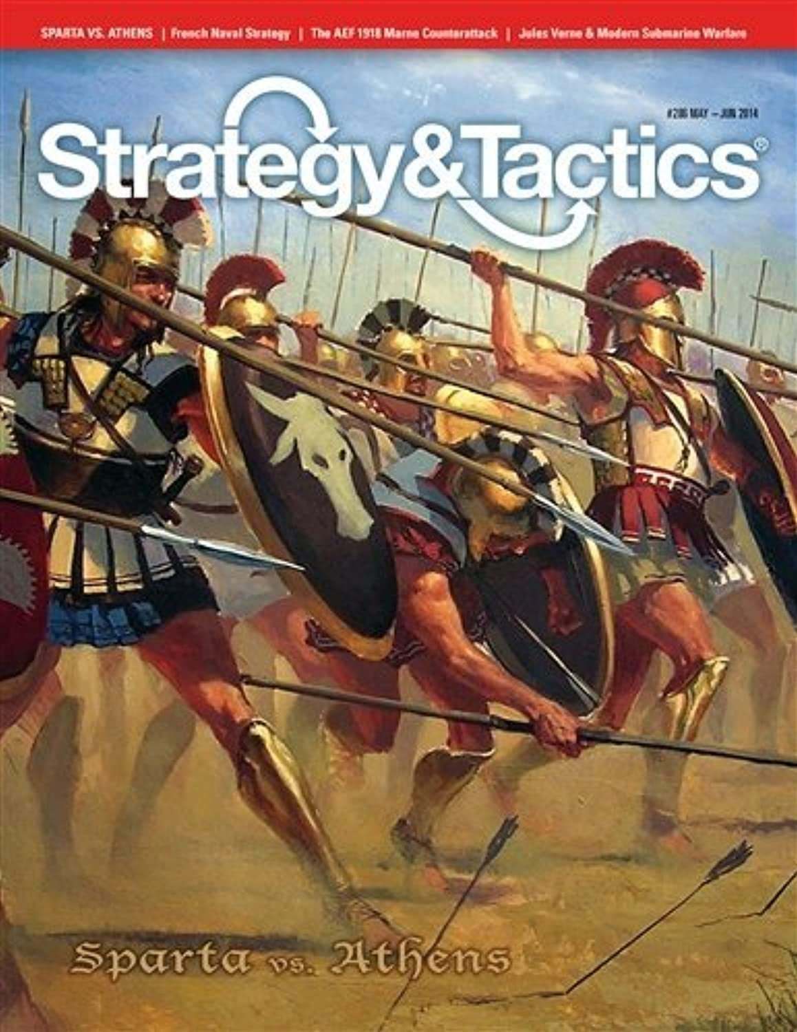 Decision Games S&T Magazine DG  Strategy & Tactics Zeitschrift   286, with Sparta Vs. Athens Boardgame