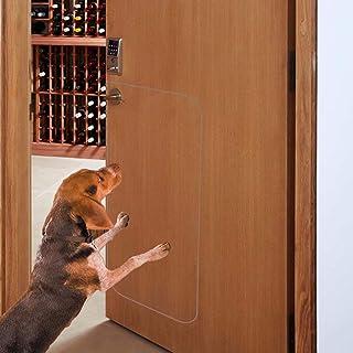 In hand Protección contra rasguños en la Puerta para Mascotas, Cubierta Protectora de la Puerta