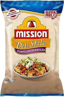 Mission Deli Style Tortilla Triangles Corn Chips, 500g