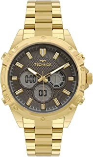 Relógio Masculino Technos Dourado, BJ3814AB/1P