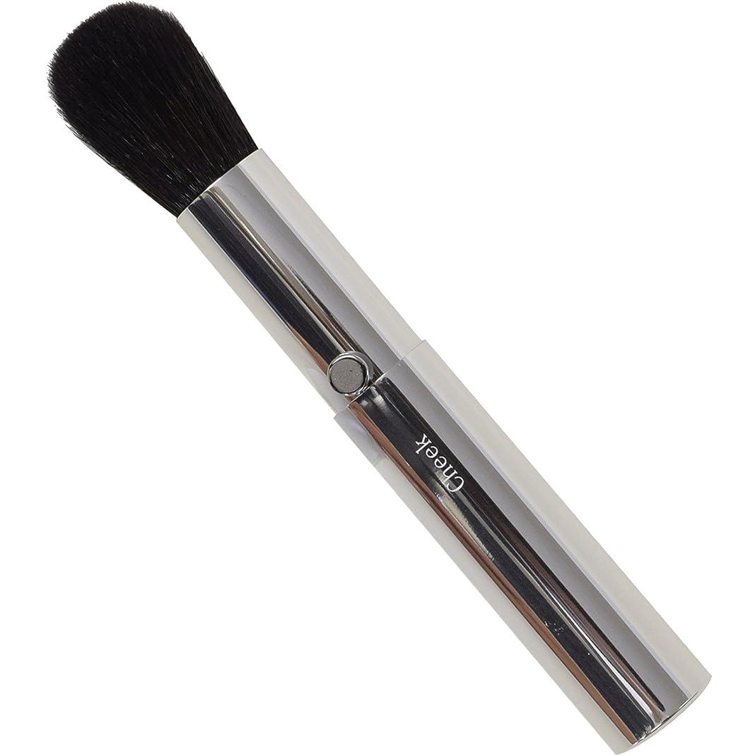 料理をする崩壊ドラマSSS-C2 六角館さくら堂 スタイリッシュシンプルチークブラシ 粗光峰100% 高品質のスライドタイプ化粧筆