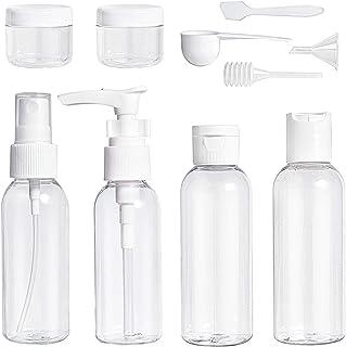 Travel Bottles Set 10 Pcs Air Travel Size Bottle Toiletries