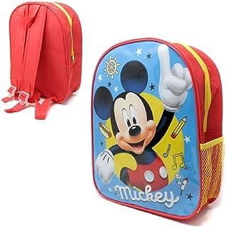 Mickey Mouse Mochila ligera con bolsillo de malla