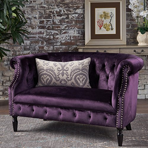 beautiful purple furniture