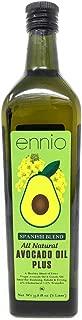 Ennio All Natural Avocado Oil Spanish Blend 33.8 Oz ( 1 Lt ) 2 Packs