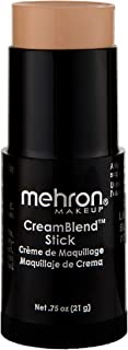 Mehron Makeup CreamBlend Stick (.75 ounce) (Light Buff)
