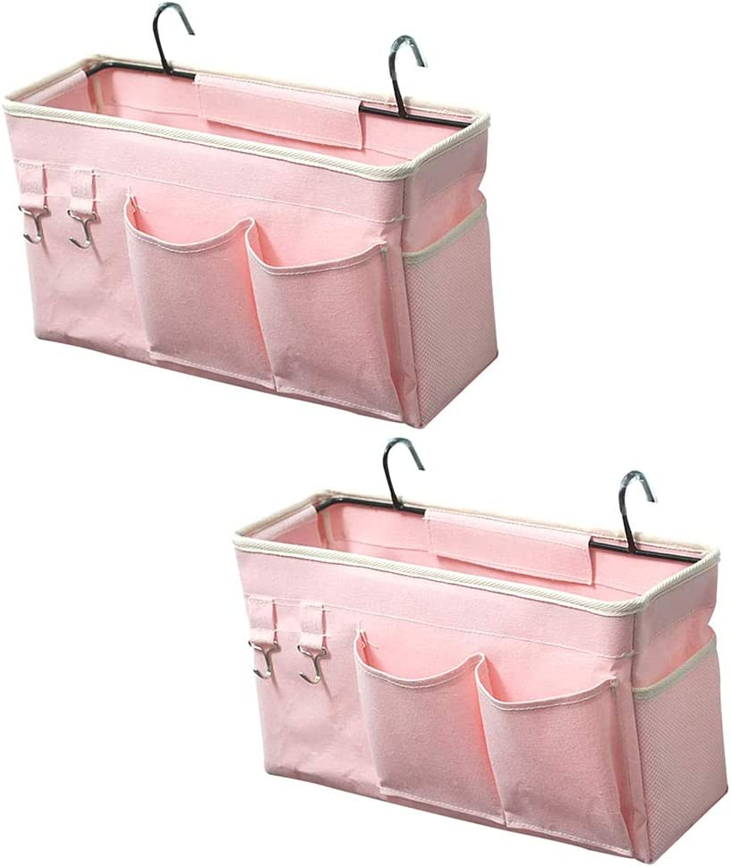 Trycooling Bedside Caddy 2 Pack 2021 new We OFFer at cheap prices Hanging Organizer