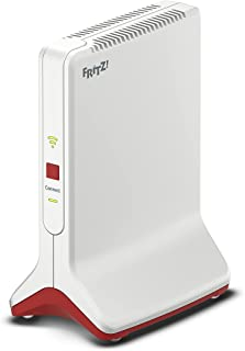 AVM FRITZ!Repeater 6000 (WiFi 6 repeater met drie draadloze eenheden: 5 GHz (2 x tot 2.400 MBit/s), 2,4 GHz (tot 1.200 MBi...