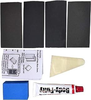 4 در 1 بتونه اتومبیل بتونه خراش پر کننده نقاشی قلم دستیار خاک برای Deep Scratch Pit Easy Repair Automotive Scratch Filler Kit پرکننده خراش با دوام برای قلم رنگ اتومبیل