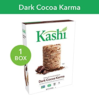 Kashi, Breakfast Cereal, Dark Cocoa Karma, Fair Trade Certified Cocoa, Non-GMO Project Verified, 16.1 oz