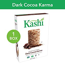 Kashi, Breakfast Cereal, Dark Cocoa Karma, Fair Trade Certified Cocoa, Non-GMO Project Verified, 16.