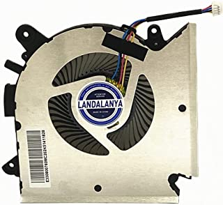 Landalanya Replacement New CPU Cooling Fan for MSI GF63 Thin GF63 9RCX-818 9SC-066 8SC-030 GF65 Thin 9SD-004 9SEXR-250 9S...