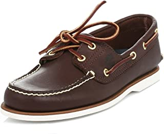 Timberland TIMBERLAND 74035, Chaussures bateau pour homme Marron marron