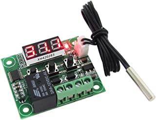 Sangmei -50-110°C W1209 DC 12V Digital Mini Thermostat Temperature Controller Control Switch Sensor Module