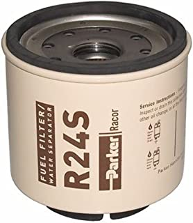 Diesel Spin-On Series Replacement Element (Micron: 2 Color Code: Brown Model: 220r) By Parker Hannifin Corp. (Racor)