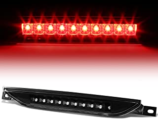 For Jeep Grand Cherokee WK2 / Compass/Durango/Caliber Rear High Mount LED 3rd Tail Brake Light (Black/Clear)