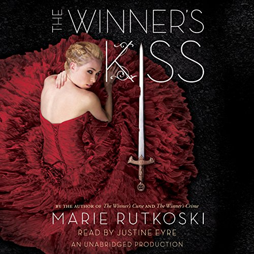The Winner's Kiss audiobook cover art