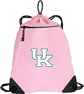 Broad Bay Cute Kentucky Wildcats Drawstring Backpack Ladies University of Kentucky Cinch Bag - Unique MESH & Microfiber