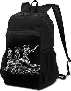حقيبة ظهر قابلة للطي خفيفة الوزن على شكل صدفة الصيف ، نجم البحر شاطئ عارضة المشي لمسافات طويلة Daypack للاستخدام في الهواء...