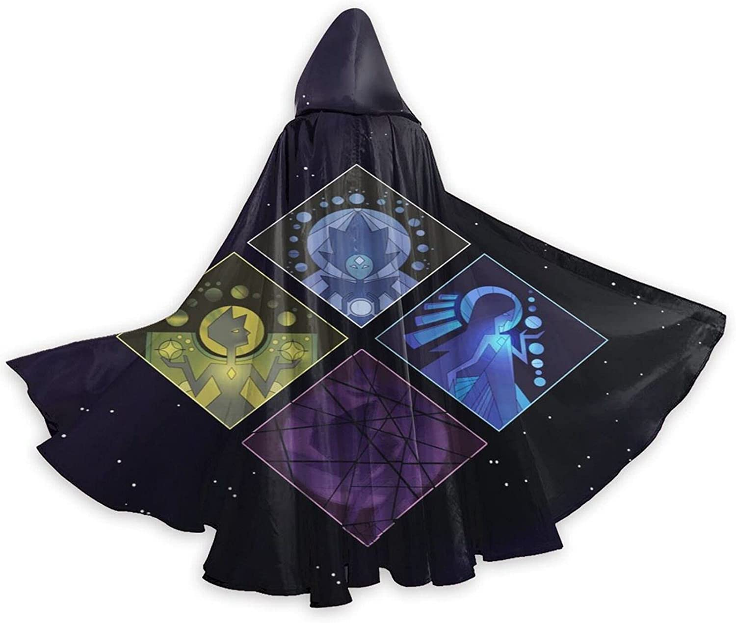 Unisex S-teven Un-iverse Gorgeous Anime Inexpensive Hooded Robe Wizard Halloween Cloa