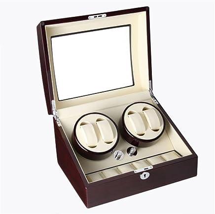 SHISHANG Luxus Automatische Uhr Vitrine Vitrine Vitrine 4  6 Leder Speicher 4 Modus Timer Funktion Safety Lock & Key B078SLXVRZ     | Exquisite Verarbeitung  fb41cb