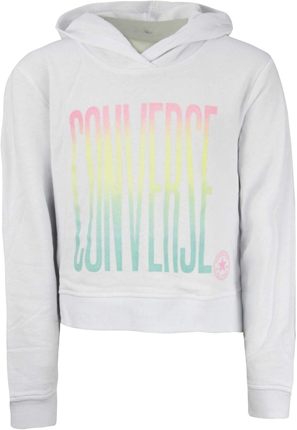 Converse Girls Ombre Cropped Pullover Tracksuit