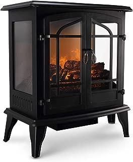 electric heater looks like wood burning stove