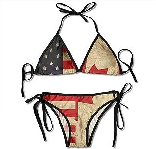 Bikini Swimsuit for Women Cheeky Halter Beach Bikini Sets Swimwear Bathing Suit
