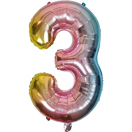 Luftballons Regenbogen FOLAT 64240 Geburtstag /& Party 30 cm 40 Jahre