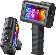 BENTSAI Porable Intelligent HD Handheld Inkjet Printer with 4.3 Inch LED Screen Inkjet Coding Machine for Label (Support 2...