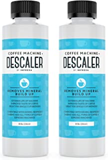 Descaler (2 Pack, 2 Uses Per Bottle) – Made in the USA – Universal Descaling..