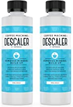 Descaler (2 Pack, 2 Uses Per Bottle) - Made in the USA - Universal Descaling Solution for Keurig, Nespresso, Delonghi and ...