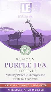 Life Extension Kenyan, Purple Tea Crystals, 14 Gram