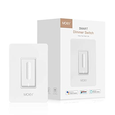 MOES WiFi Smart Light Dimmer Switch