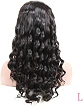 Loose Wave 360 Frontal Lace Wig Natural Color 8-26