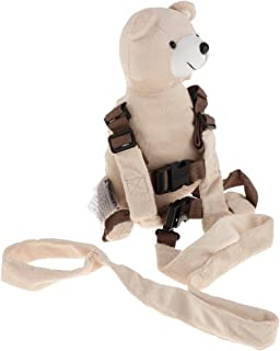 Baosity Harness Buddy Reins and Anti-Lost Backpack Child/Toddler Safety Animal Designs - Bear