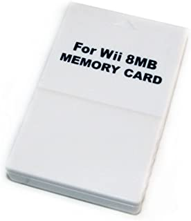 Gamilys 8MB Memory Card Stick for Nintendo Gamecube NGC Wii Console 123 Blocks