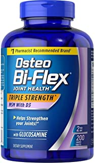 Osteo Bi Osteo Bi Flex Supplement Glucosmine 1500 Mg Vitamin D 1000IU (200Count), 200Count