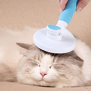 Cat Brush, Dog Hair Remover for Shedding and Grooming, Comb for Small Dog Supplies