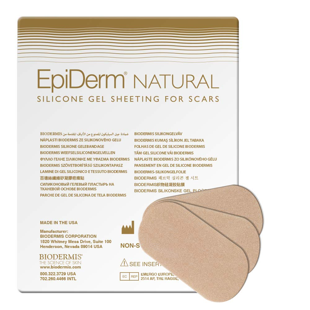 Las Vegas Mall Epi-Derm Small Strips - 2.75 x Pack in Sili Natural High order 3 1.18