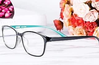 Men and Women Ultra Light HD Flower Glasses Anti-Radiation Anti-Blue Reading Glasses Hyperopia (Color : Blue, Size : +3.0X)