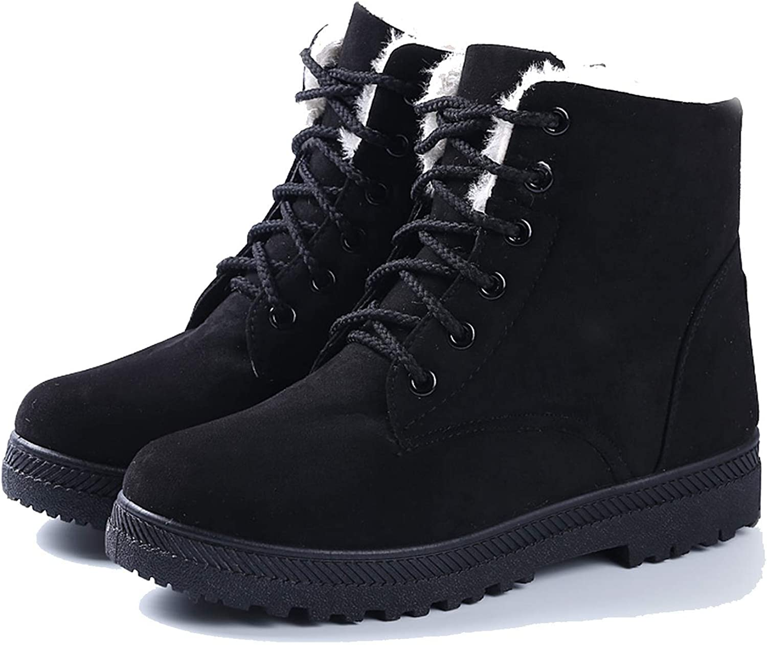 Fashion Warm Snow Boots 2018 Heels Winter Women Ankle shoes,
