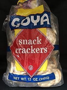Goya Snack Crackers 12 oz