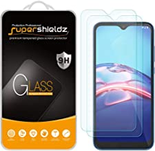 (2 Pack) Supershieldz for Motorola Moto E (2020) Tempered Glass Screen Protector, Anti Scratch, Bubble Free