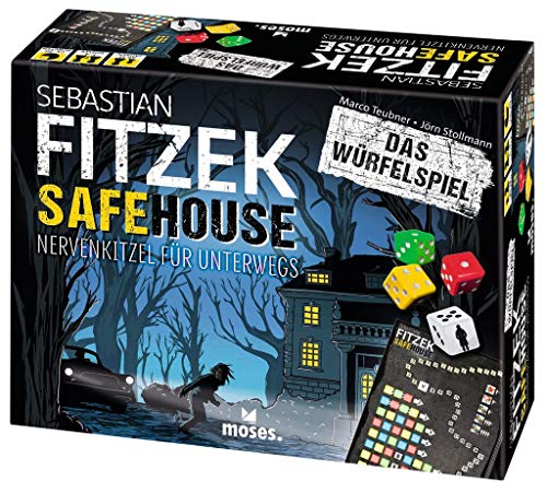 moses. Sebastian Fitzek SafeHouse - Das Würfelspiel | Der Gesellschaftsspiel-Klassiker für unterwegs | Von Marco Teubner